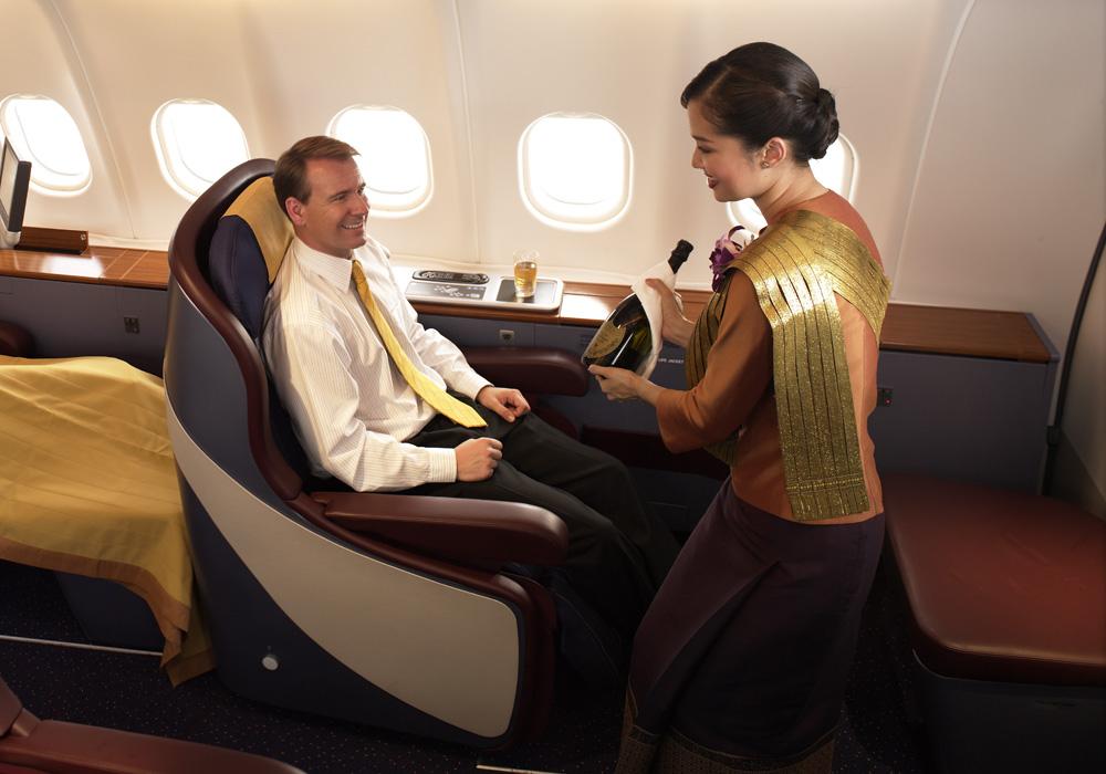 ファーストクラス イメージ/タイ国際航空