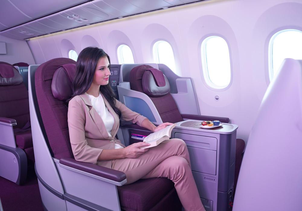 ビジネスクラスイメージ/タイ国際航空