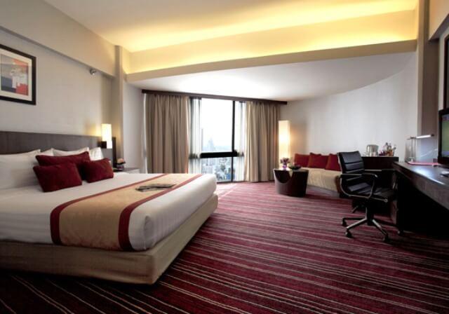 アンバサダーホテル(スーペリアルーム)滞在4日間