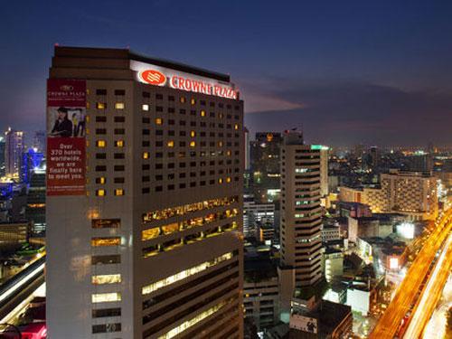 【航空券+ホテル】クラウンプラザバンコクルンピニパーク 4日間-ビジネスマンからの信頼も厚い洗練されたホテルです-