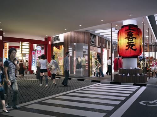 ショッピングエリア 東京