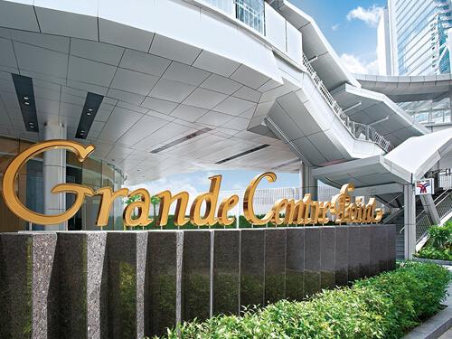 グランドセンターポイントターミナル21滞在5日間