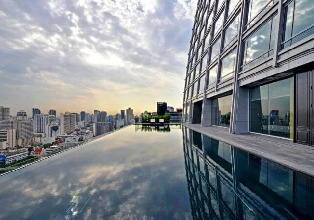 サイアム周辺地区◆AIR&ホテル◆和とタイの融合 オークラ・プレステージ