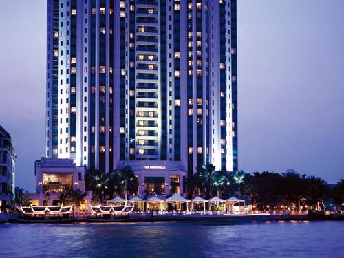 【航空券+ホテルパック】ペニンシュラバンコク4日間-チャオプラヤ川沿いの格調高いラグジュアリーホテル-