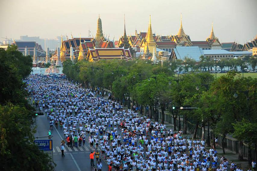 ◆11/16午前出発限定◆微笑みの国タイ・バンコクマラソンツアー 4日間