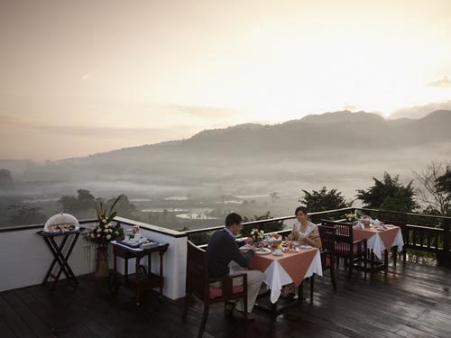 ◆美しい自然に融合した山岳リゾート*パンヴィマンチェンマイスパリゾート滞在5日間◆