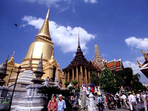 王宮・エメラルド寺院(バンコク)