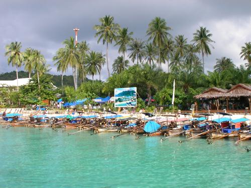 【ピピ島】トンサイベイ泊◇パトンビーチホテル+ピピアイランドカバナ6日間◇