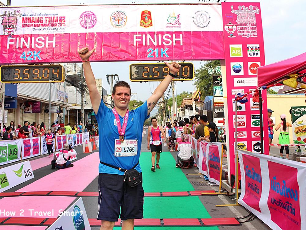 微笑みの国タイ・チェンマイマラソンツアー 5日間