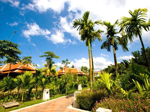 ホテル内ガーデン
