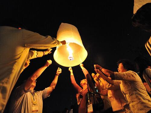 ~願いを空へ~感動の絶景・ロイクラトン祭りツアー2018