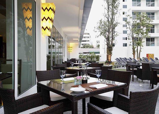 センタラパタヤ/オープンエアーのレストラン