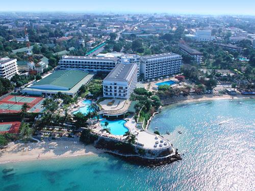 ◆デュシタニパタヤ滞在5日間◆-2つのプライベートビーチを持つ高級リゾート-
