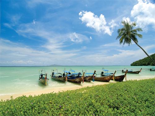 ★リゾート三昧★珊瑚礁の楽園ピピ島+プーケット6日間 ピピアイラアンドビレッジ+ディバナプラザ