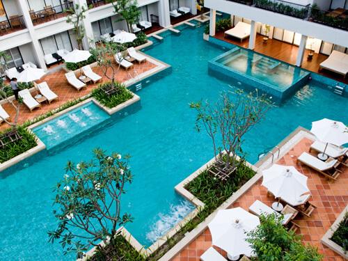 ◆2都市周遊◆バンタイビーチリゾート+S15スクンビット
