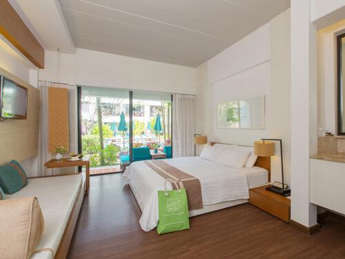 バンタイビーチリゾート/客室一例「デラックスルーム」