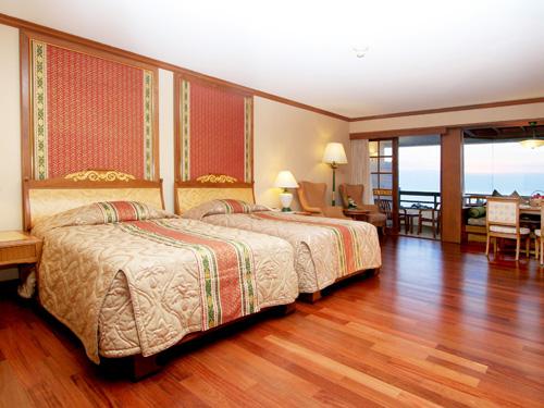 客室一例「ダイアモンドスイートルーム」ツインルーム