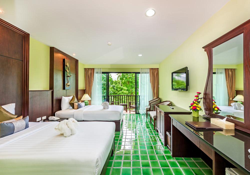 ◆1人旅応援◆AIR&ホテル★中心地パトンエリアの近く!