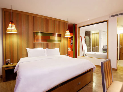 パトンビーチホテル「スーペリア」一例
