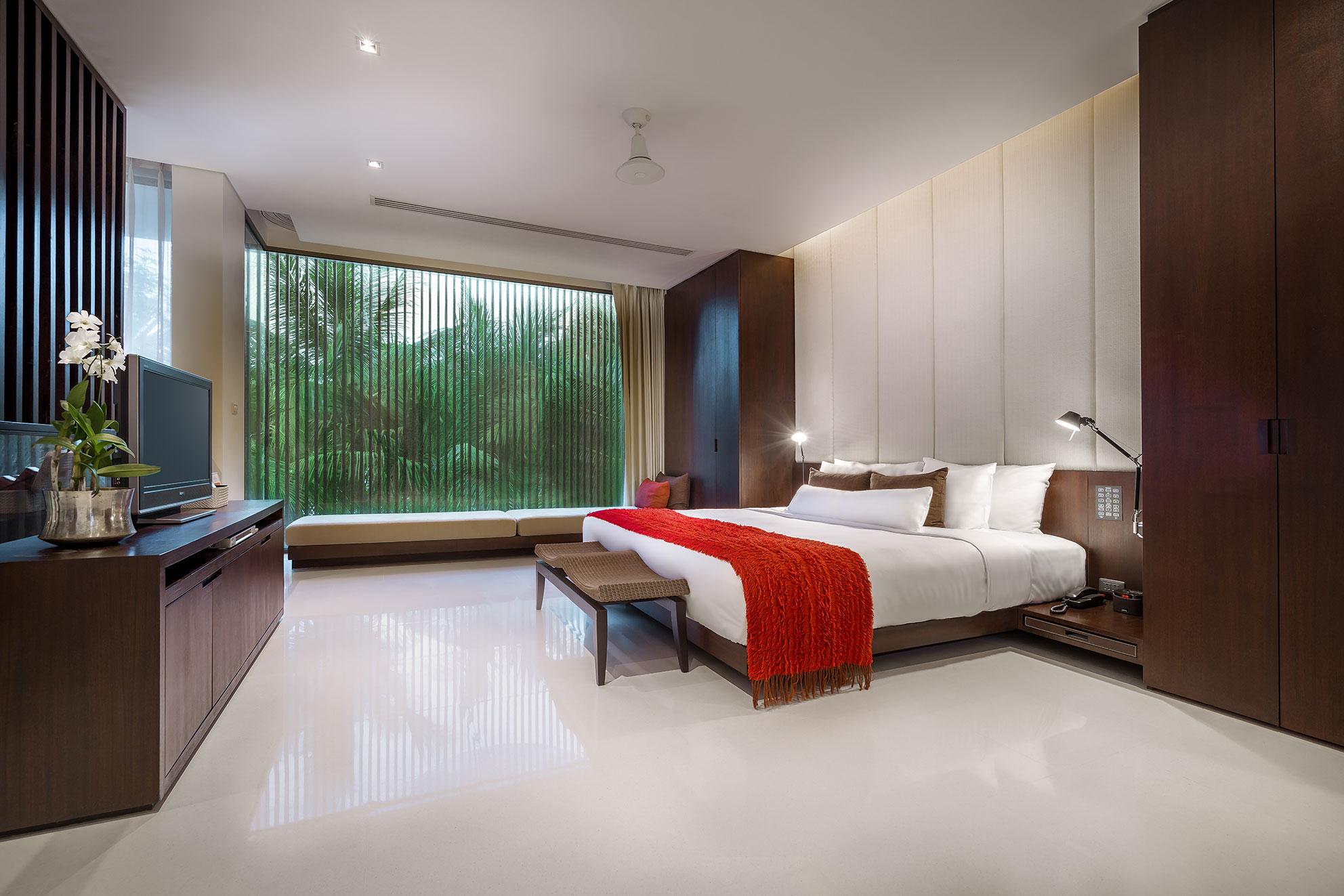 ツインパームスプーケット/デュープレックスプールスイート1ベッドルーム(室内例)