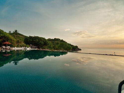 ココナツアイランド サムイ島の休日5日間トンサイベイ5日間【リラックス派】プライベートビーチに面した緑あふれるリゾート