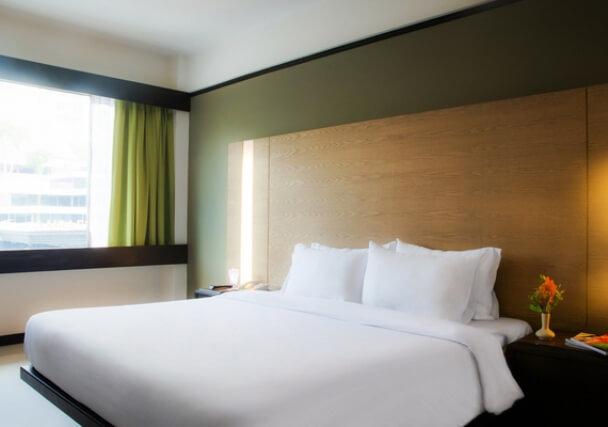 バンコクのホテルの客室一例
