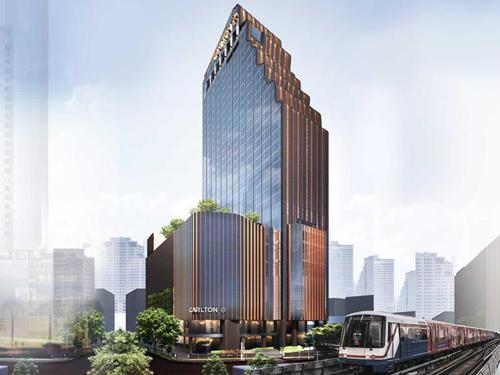 シンガポールの高級ホテルグループがバンコクに進出!2020年2月開業!全室バスタブとウォシュレットトイレ付で快適なお部屋