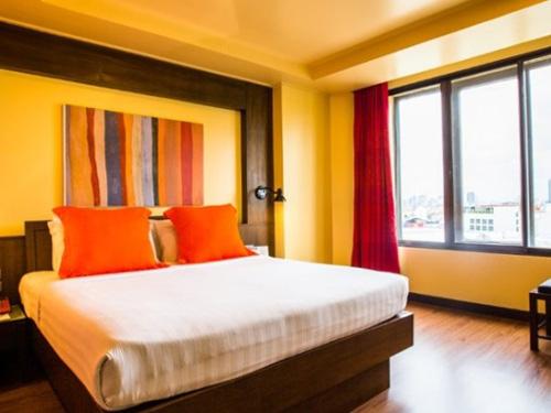 【航空券+ホテル】バンコクチャダ(デラックスルーム)滞在 バンコク4日間