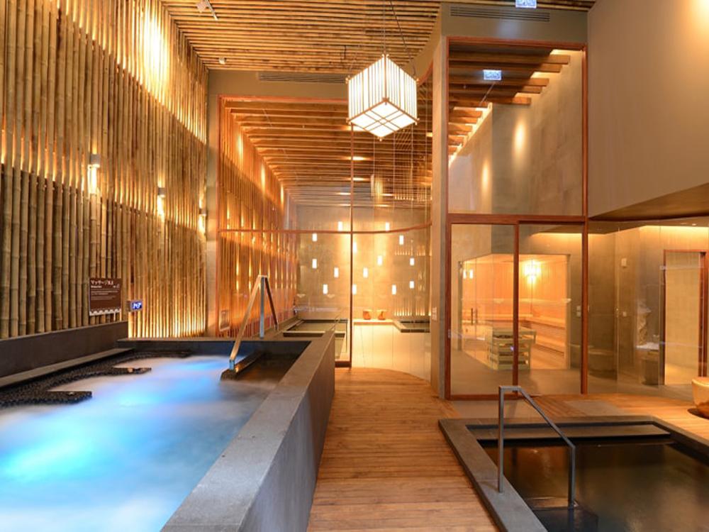 レッツリラックス内の温泉設備(有料)/イメージ