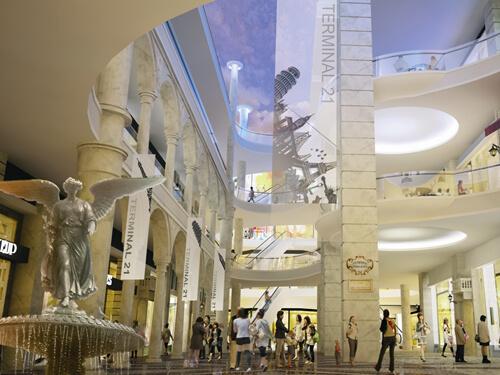 ショッピングエリア ローマ