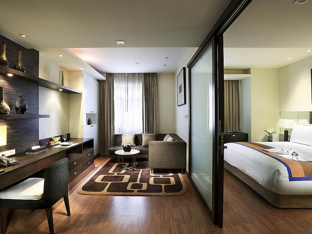 【航空券+ホテル】グランドスクンビット(デラックス・スイートルーム)滞在 バンコク4日間