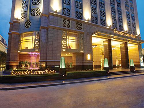 ◆グランデ・センター・ポイント・ホテル&レジデンス・ラチャダムリ (グランド デラックス)滞在【午前発】タイ航空で行くバンコク5日間