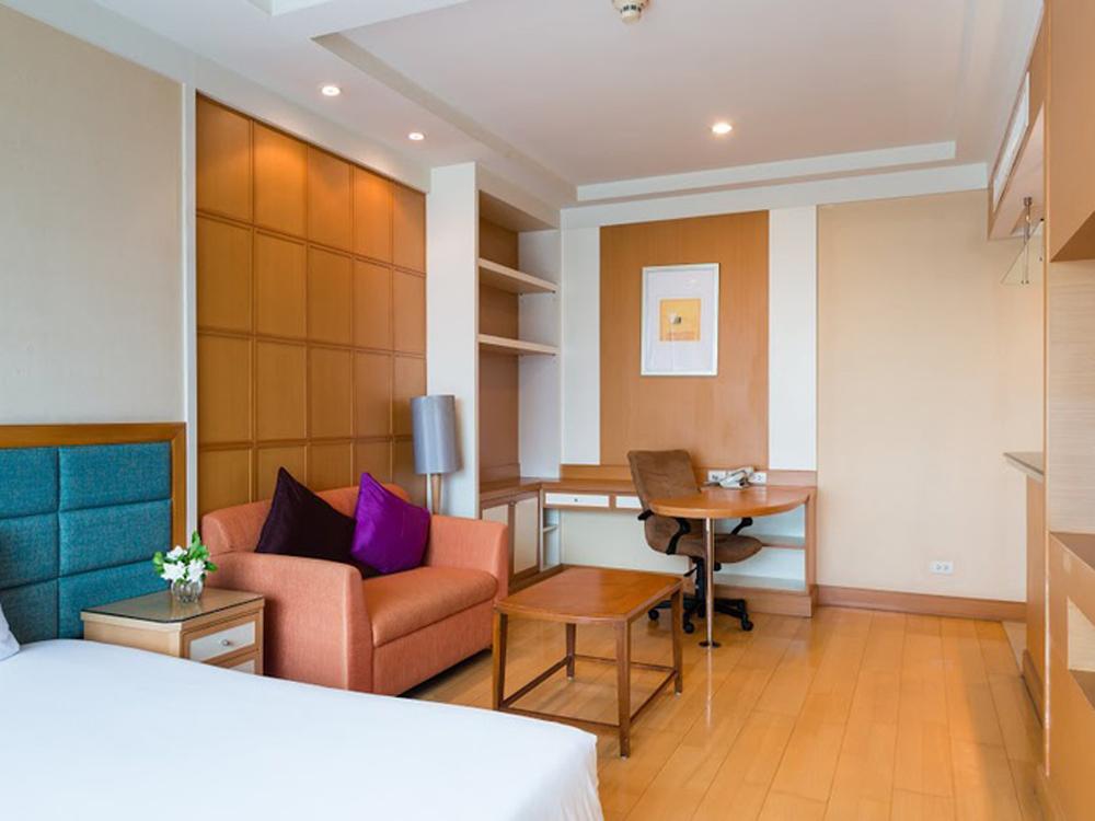【航空券+ホテル】ジャスミンシティー(デラックスルーム)滞在 バンコク4日間