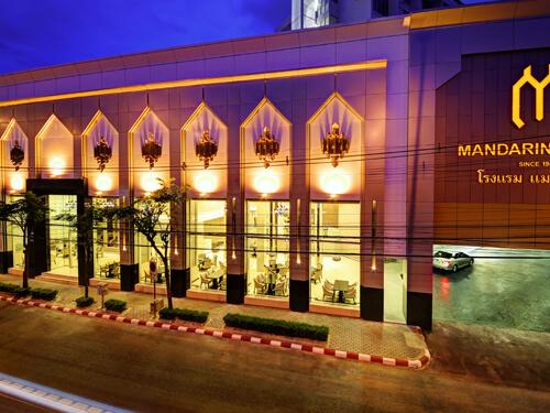 【ROH&AA 50&15周年特別感謝セール!! 】◆☆全室ウォシュレット付☆マンダリン・ホテル・マネージド・バイ・センターポイント (デラックス)滞在【成田/午前発】タイ航空で行くバンコク5日間