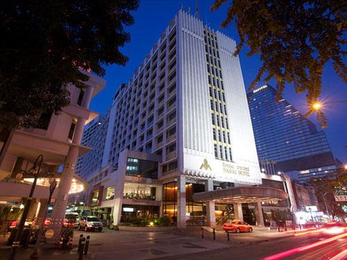 ◆夜賑やか!◆☆人気のシーロム地区☆ナライ・ホテル (スーペリアルーム)滞在【成田/午前発】タイ航空で行くバンコク5日間