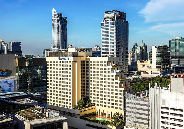 ◆ノボテル バンコク・オン・サイアムスクエア (デラックスルーム)滞在◆タイ航空で行くバンコク5日間