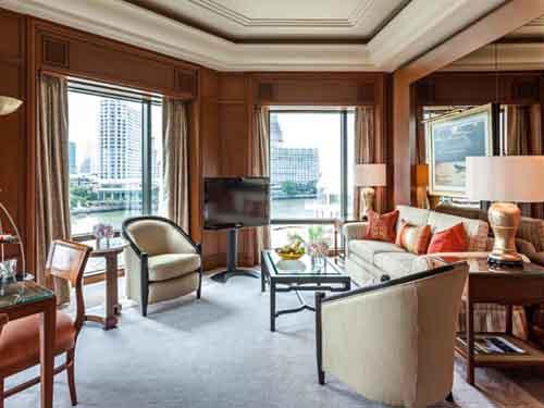 【航空券+ホテル】ペニンシュラバンコク(デラックス・スイートルーム)滞在 バンコク4日間