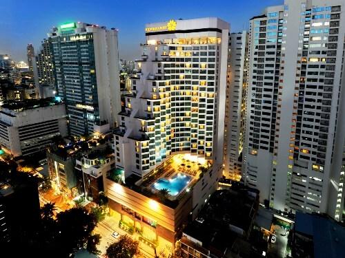 【航空券+ホテル】レンブラント ホテル バンコク(スーペリアルーム)滞在 バンコク4日間
