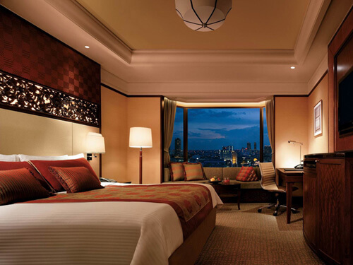 【航空券+ホテル】シャングリラ バンコク(デラックスルーム)滞在 バンコク4日間