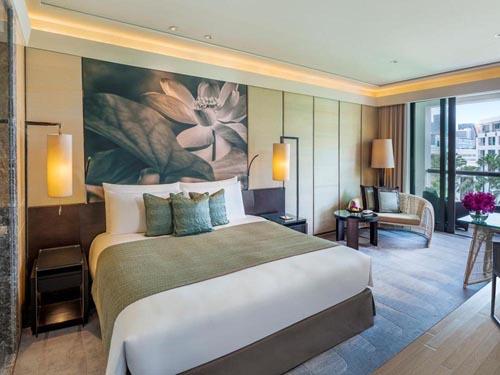 【安心の往復送迎付き】プールが充実!都会のリゾートホテル サイアムケンピンスキー(プレミアルーム)滞在 バンコク5日間