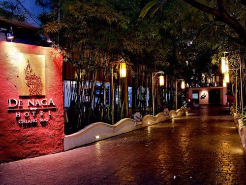 ベストシーズン到来!人気タイの古都チェンマイ☆【関空/午前発】旧市街に建つランナースタイルホテル デ・ナガチェンマイ5日間
