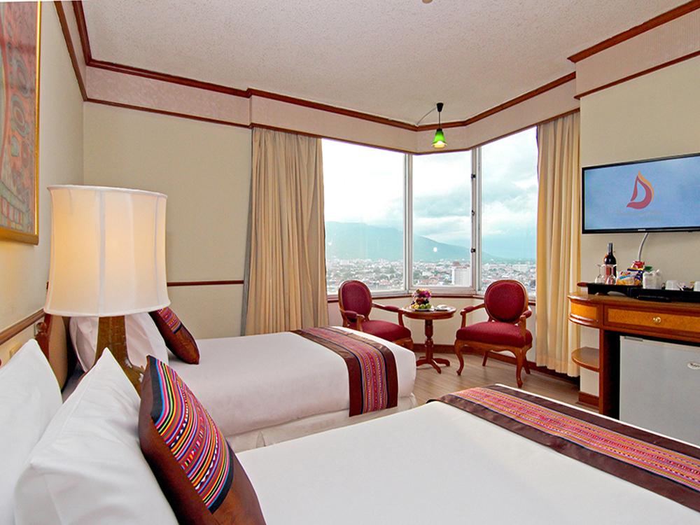 ドゥワンタワン・ホテル チェンマイ(デラックスルーム)滞在4日間