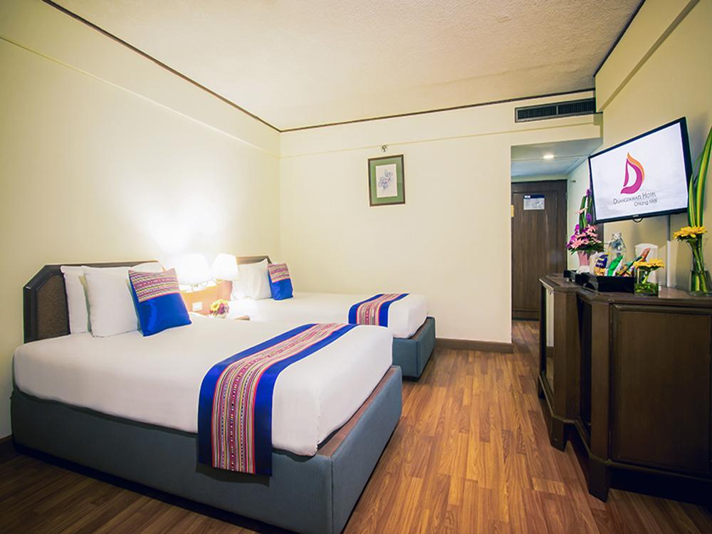ドゥワンタワン・ホテル チェンマイ(スーペリアルーム)滞在4日間
