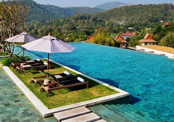 人気タイの古都チェンマイ☆山のリゾートで一休み・・・ベランダチェンマイ5日間