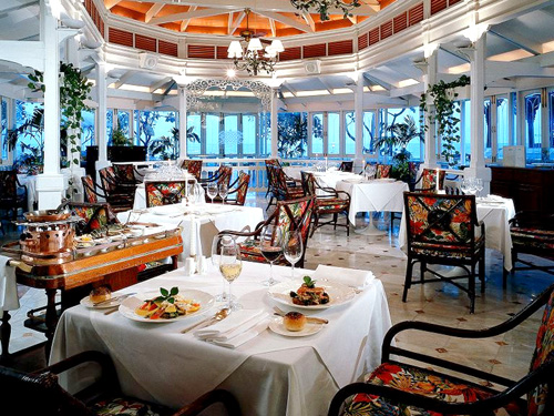 シーフードレストラン「パームシーフードパビリオン」