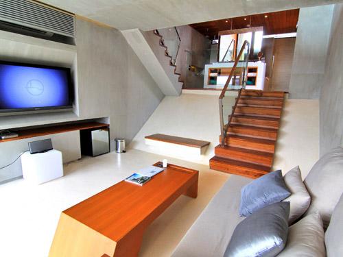 客室一例「デュープレックスグランドプールヴィラ」