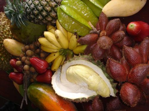 タイは南国のフルーツの宝庫