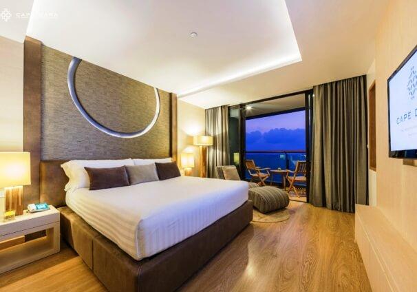 ケープダラ(バスルームからも海の見えるお部屋)滞在 パタヤ5日間