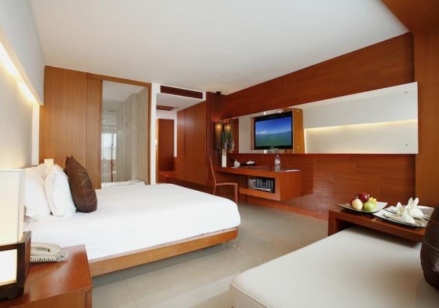 プーケットのホテルの客室一例