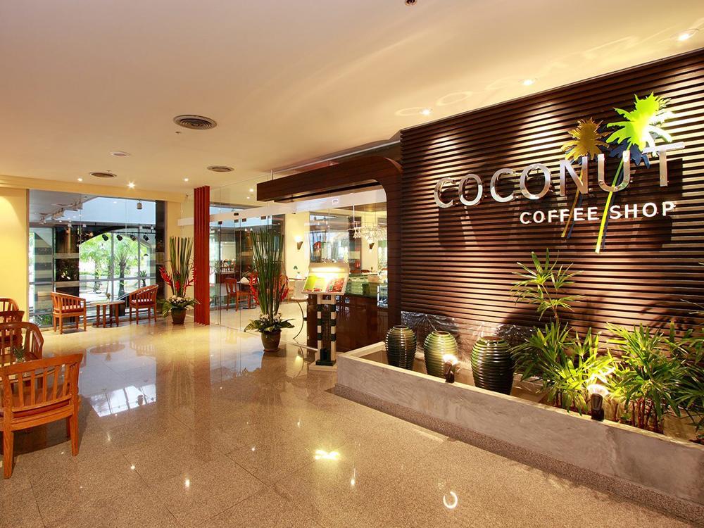 パラダイスウィング2階にある「ココナッツコーヒーショップ」イメージ
